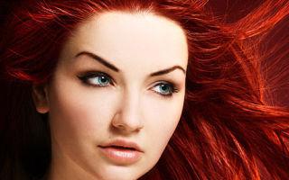 Красная краска для волос: какая самая стойкая и лучшая профессиональная рыжая, отзывы о щадящем средстве