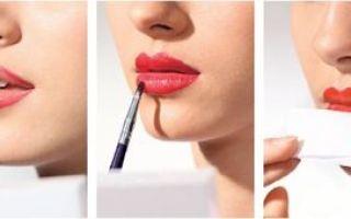 Карандаш для губ: как красить матовой помадой, как пользоваться и подобрать?