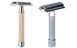 Т-образный бритвенный станок — 9 приборов для бритья: Восток, Идеал, Меркур и другие