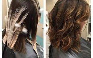 Мелирование на темные волосы в домашних условиях: техника выполнения калифорнийского, как сделать?