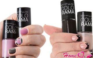 Colorama (Колорама): палитра лаков для ногтей от Maybelline (Мейбелин), как нанести цвета?