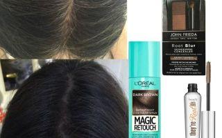 Спрей-краска для волос: красящий в баллончиках, цветной для окрашивания в яркие цвета и смываемая водой для покраски