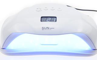 Лампа для шеллака: какая УФ лучше для дома и как выбрать Лед для домашнего использования