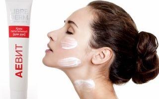 Крем Аевит Либридерм для лица: отзывы косметологов на питательный, инструкция по применению ночной маски