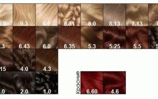 Краска для волос Гарньер: палитра цветов Колор Нейчералс и оттенки Сенсейшен, состав средств