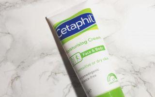Cetaphil (Кетафил) — увлажняющий защитный крем, 5 популярных средств бренда