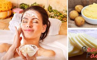 Маска из картофеля для лица: отзывы о картофельной, польза свежей сырой картошки от отеков