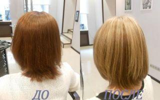 Колорирование на рыжие волосы: популярные оттенки, цвета и тона, подробная инструкция