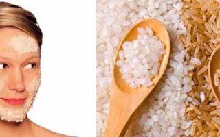 Рисовая маска для лица: японская из риса, молока и меда от морщин в домашних условиях, отзывы об отваре