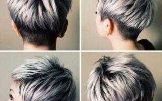 Пепельное омбре: 12 видов на темные корни на русые короткие волосы, серый цвет концов