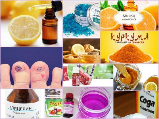 Сода и лимон для лечения грибка ногтей