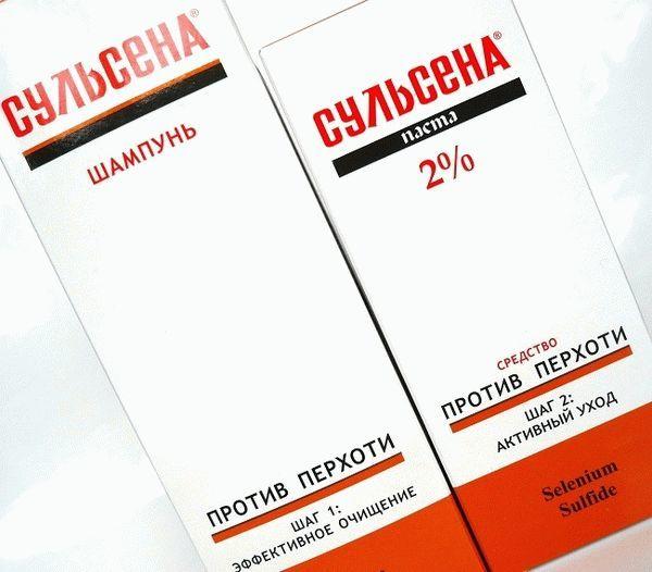 ШАМПУНЬ СУЛЬСЕНА - инструкция по применению, цена, отзывы и аналоги