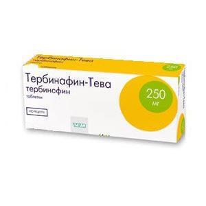 ТЕРБИНАФИН-ТЕВА - инструкция по применению, цена, отзывы и аналоги