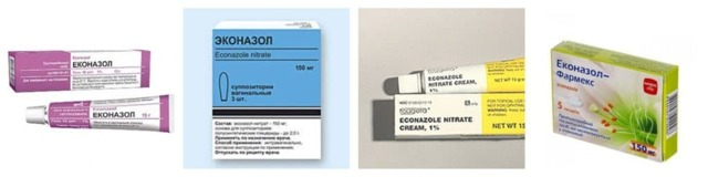 ЭКОНАЗОЛ - инструкция по применению, цена, отзывы и аналоги