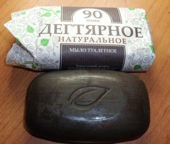 Дегтярное мыло от грибка ногтей - рецепты применения и отзывы