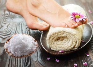 Морская соль от грибка ногтей на ногах - инструкция и отзывы