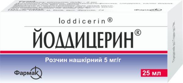 ЙОДДИЦЕРИН - инструкция по применению, цена, отзывы и аналоги