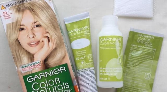 Гарньер Олиа: палитра цветов красок для волос, отзывы о garnier olia, оттенки
