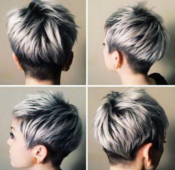 Пепельное омбре: 12 видов на темные корни на русые короткие волосы, серый цвет концов, черные кончики на средние с переходом