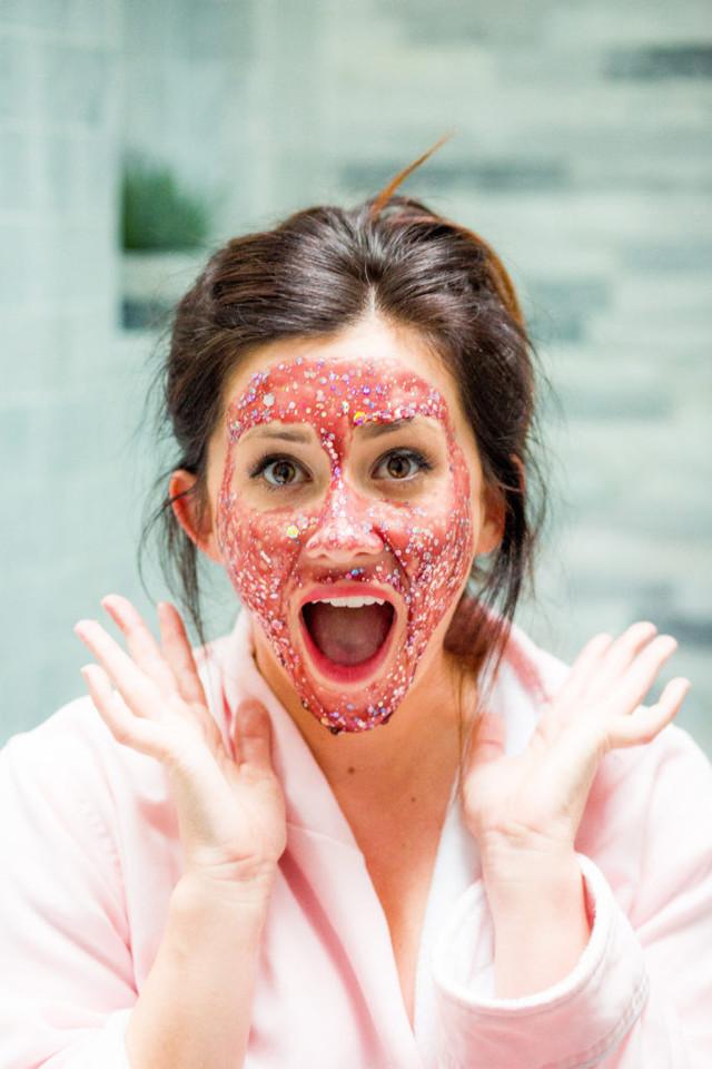 Маска для лица с блестками: блестящая diamond glitter - 7 лучших