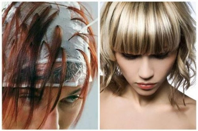 Покраска волос: колорирование самостоятельно, схема окрашивания дома, как делать окраску, техника выполнения пошагово, технология