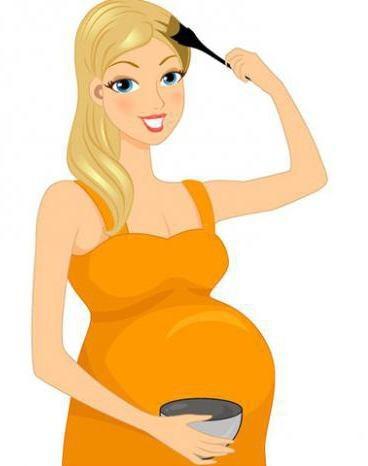 Краска для волос для беременных: окрашивание безаммиачной во время беременности, какой красить женщинам, можно ли тонировать без аммиака
