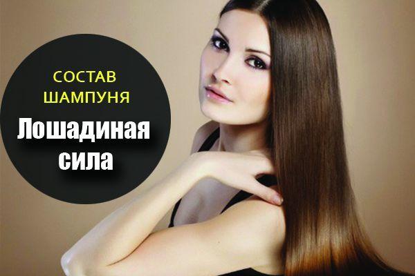Шампунь Лошадиная Сила: состав от перхоти, сухой конский для роста волос и укрепления, отзывы врачей, производитель