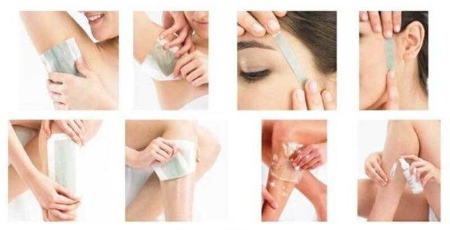 Восковые полоски для удаления волос на лице, в интимной зоне, на ногах, подмышками - как ими правильно пользоваться, как сделать в домашних условиях