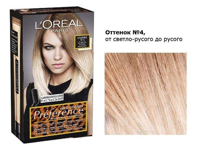 Лореаль Преферанс: палитра цветов красок для волос loreal preference, холодные оттенки блонд, каштановые и светло-русые, отзывы