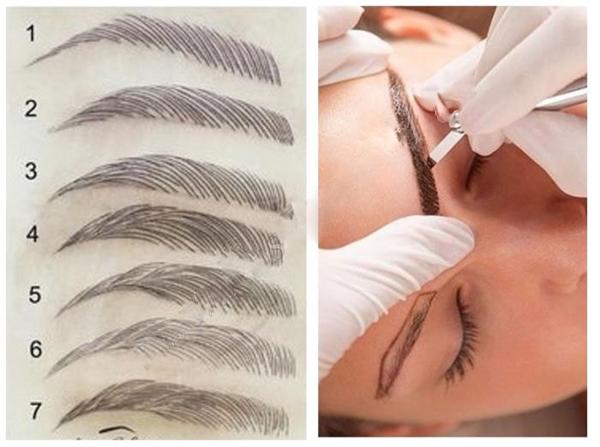 Чем отличается микроблейдинг от перманентного макияжа бровей, волоскового татуажа и микропигментирования: что лучше, в чем разница