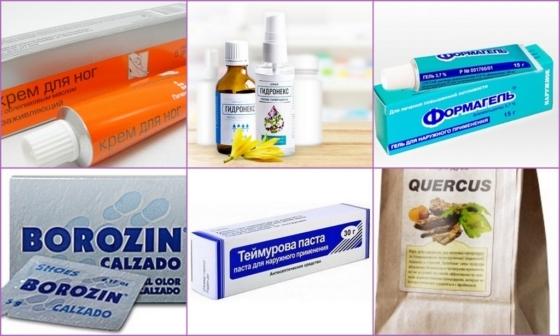 Мазь от запаха ног: средство от потливости Борозин, дезодорирующий крем от пота Галенофарм для мужчин в аптеке, отзывы о порошке 5 дней