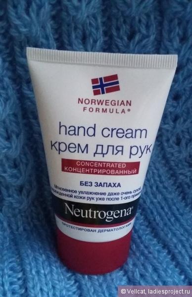Нитроджина - крем для рук: отзывы о neutrogena для ногтей, Норвежская Формула