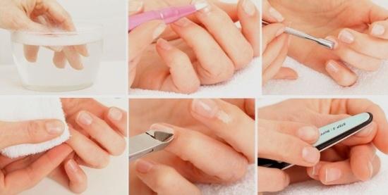Как убрать кутикулу в домашних условиях без обрезания: как правильно удалить пошагово без специальных приборов, обработка