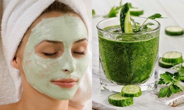 Огуречная маска для лица: чем полезен огурец, сок от морщин в домашних условиях, польза для кожи, как протирать свежим, лед от прыщей