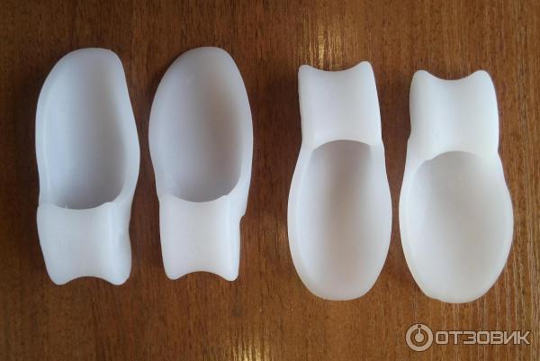 Межпальцевые разделители для пальцев ног ортопедические: распорка силиконовая, растяжитель, прокладки, приспособления от косточки, вставка