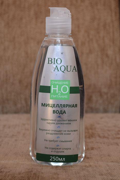 Мицеллярная вода bio aqua, описание, состав, производитель, , отзывы.