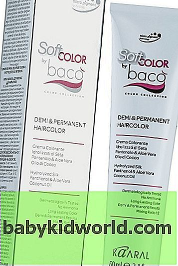 Краска Коралл: палитра цветов для волос Каарал (kaaral), отзывы о Бако (baco), косметика Коралл Сенс