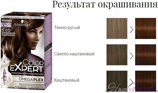 Краска для волос Шварцкопф: палитра Колор Эксперт, профессиональная color expert schwarzkopf, Эссенсити, крем Миллион