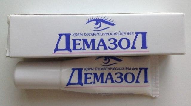 Демазол - крем для век: инструкция по применению, отзывы о Плюс и отличия аналогов мази и геля