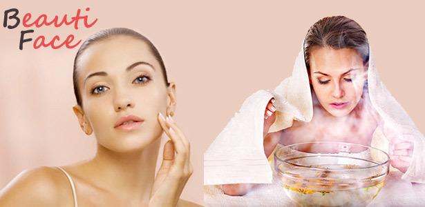 Паровая ванночка для лица в домашних условиях: маска на пару от прыщей