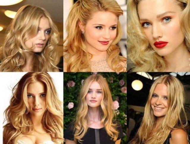 Розовое омбре на волосах: 8 оттенков (золото, блонд, нежное, белое, серое, бледное, каштановое, голубое) на кончиках и до середины прядей