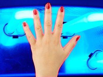 УФ лампа для ногтей: как пользоваться ультрафиолетовой для сушки гель-лака, опасна и вредна ли для маникюра, как сушить