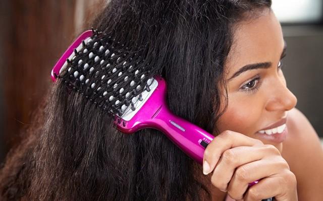 Расческа-выпрямитель: электрическая щетка для укладки волос, отзывы, рейтинг, что лучше утюжка, плойки