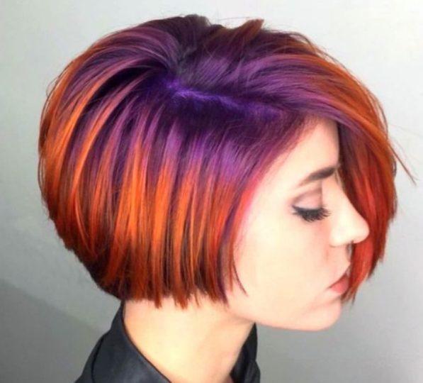 Обратное омбре: наоборот из светлых в темные волосы