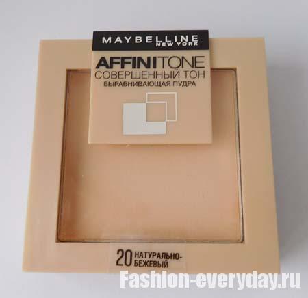 Пудра Мейбелин Аффинитон Совершенный Тон: отзывы о maybelline affinitone, компактная матирующая Супер Стей 24 для лица