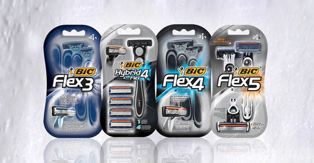 9 бритвенных станков bic - flex 5 hybrid, bic metal, bic 1 sensitive, bic 3 sensitive, 3 action,twin lady sensitive, pure 3 lady