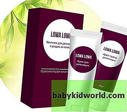 Лова лова крем для депиляции, lowa lowa, отзывы врачей и пользователей,состав, инструкция