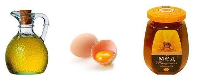 Маска для волос: коньяк, мед, яйцо, желток с солью