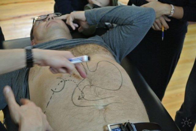 Висцеральный массаж живота: что это такое, самомассаж внутренних органов по Огулову или старорусский, отзывы, противопоказания