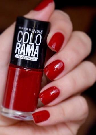 colorama (Колорама): палитра лаков для ногтей от maybelline (Мейбелин), как нанести цвета
